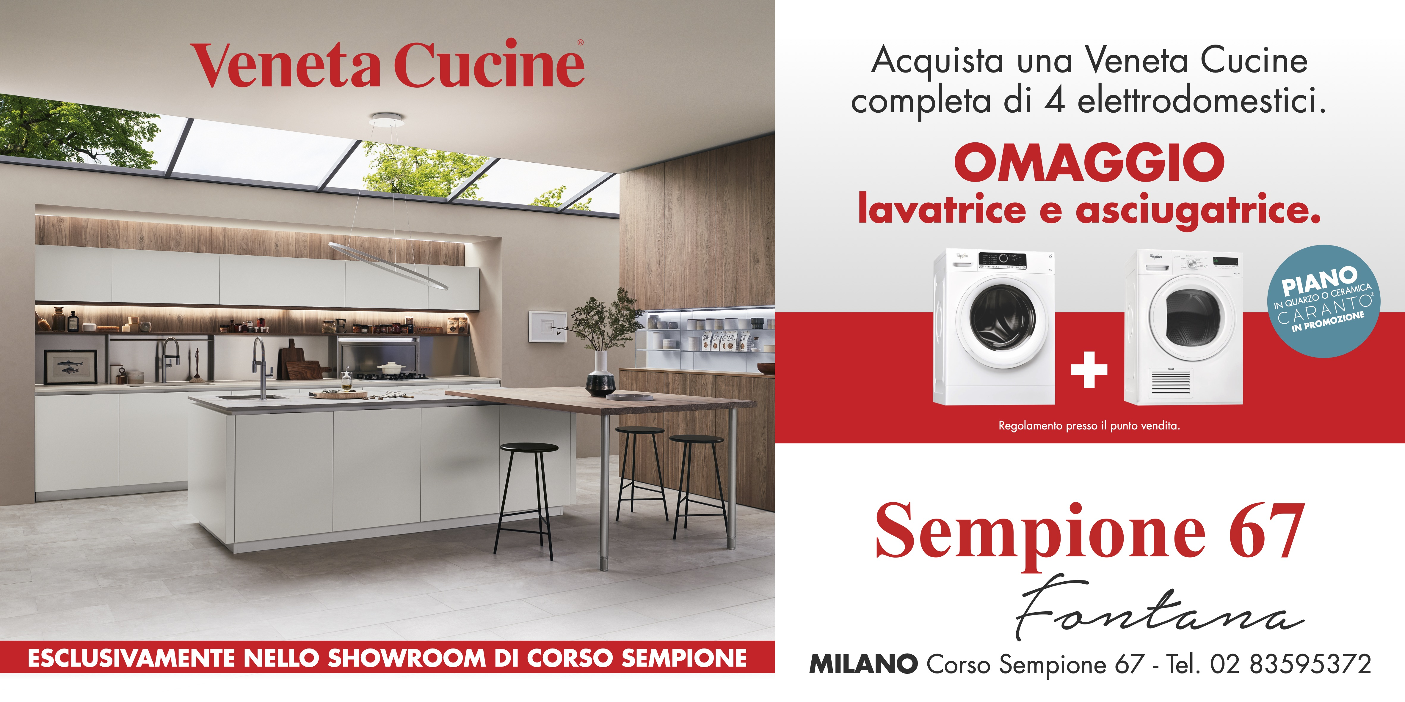 Veneta Cucine   Negozio di Corso Sempione 67 a Milano